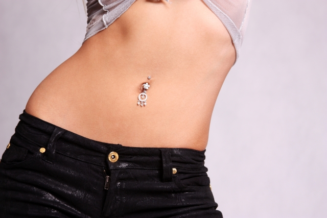 Dangling Dream Catcher Belly Button Ring